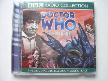 Doctor Who The Macra Terror  CD Audio Soundtrack